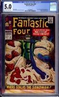 Fantastic Four #61 CGC 5.0 ow/w
