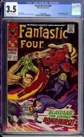 Fantastic Four #63 CGC 3.5 ow/w