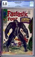 Fantastic Four #64 CGC 5.0 ow/w