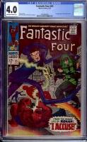 Fantastic Four #65 CGC 4.0 ow/w