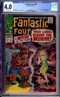 Fantastic Four #66 CGC 4.0 ow