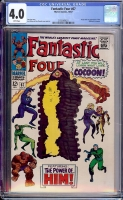 Fantastic Four #67 CGC 4.0 w