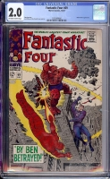 Fantastic Four #69 CGC 2.0 w