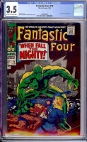 Fantastic Four #70 CGC 3.5 ow/w
