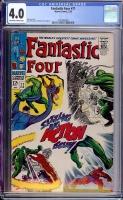 Fantastic Four #71 CGC 4.0 ow/w