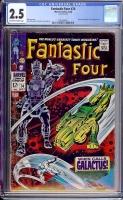 Fantastic Four #72 CGC 5.0 cr/ow