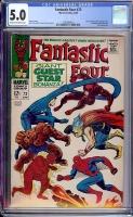Fantastic Four #73 CGC 5.0 cr/ow