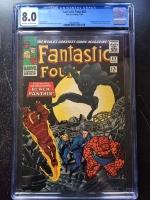 Fantastic Four #52 CGC 8.0 ow/w