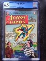Action Comics #188 CGC 6.5 cr/ow