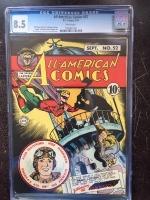 All-American Comics #52 CGC 8.5 w
