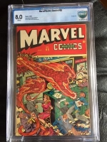 Marvel Mystery Comics #65 CBCS 8.0 w