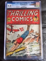 Thrilling Comics #18 CGC 8.0 ow/w
