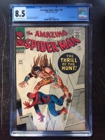 Amazing Spider-Man #34 CGC 8.5 ow/w