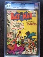 Batman #95 CGC 4.5 cr/ow