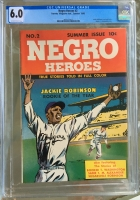 Negro Heroes #2 CGC 6.0 ow/w