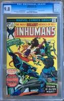 Inhumans #1 CGC 9.8 ow/w