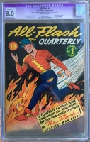 All-Flash #1 CGC 8.0 ow