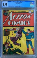 Action Comics #73 CGC 8.0 cr/ow