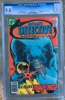 Detective Comics #474 CGC 9.8 w