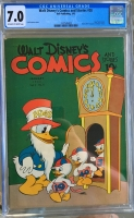 Walt Disney's Comics and Stories #28 CGC 7.0 ow/w
