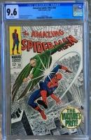 Amazing Spider-Man #64 CGC 9.6 w