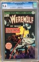 Werewolf By Night #33 CGC 9.6 ow/w