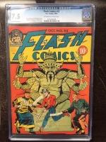 Flash Comics #22 CGC 7.5 ow/w
