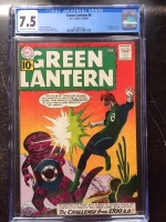 Green Lantern #8 CGC 7.5 ow/w