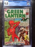 Green Lantern #13 CGC 9.0 ow/w