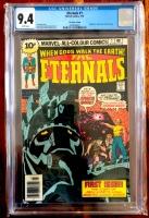 Eternals #1 CGC 9.4 w U.K. Edition