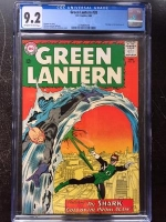 Green Lantern #28 CGC 9.2 ow/w