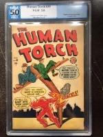 Human Torch #35 CGC 5.0 cr/ow