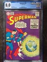Superman #144 CGC 8.0 ow