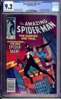 Amazing Spider-Man #252 CGC 9.2 ow/w