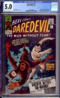 Daredevil #7 CGC 5.0 ow/w
