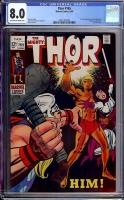 Thor #165 CGC 8.0 ow/w