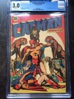 Catman Comics #29 CGC 3.0 ow