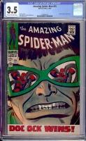 Amazing Spider-Man #55 CGC 3.5 cr/ow