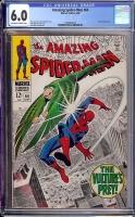 Amazing Spider-Man #64 CGC 6.0 ow/w