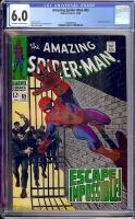Amazing Spider-Man #65 CGC 6.0 ow/w
