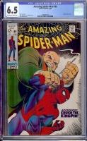 Amazing Spider-Man #69 CGC 6.5 ow/w