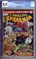Amazing Spider-Man #132 CGC 8.0 w