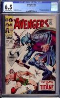 Avengers #50 CGC 6.5 cr/ow