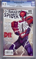 Amazing Spider-Man #568 CGC 9.2 w Second Printing