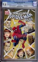 Amazing Spider-Man #600 CGC 9.6 w Romita Variant Cover