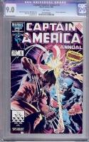 Captain America Annual #8 CGC 9.0 w