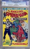 Amazing Spider-Man #129 CGC 7.5 w