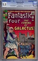 Fantastic Four #48 CGC 5.5 ow/w