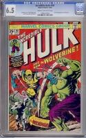 Incredible Hulk #181 CGC 6.5 cr/ow