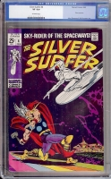 Silver Surfer #4 CGC 8.0 ow